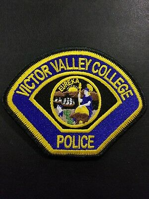 Victor Valley College California CA Police Patch