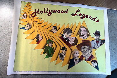 Vintage Hobbytex Pictures Filled Ready To Frame 50 X 70 ?cm Edge To Edge Movies