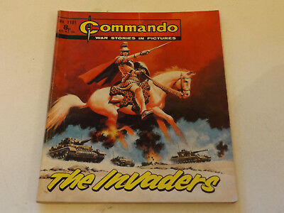 Commando War Comic Number 1101!,1977 Issue,v Good For Age,41 Years Old,super.