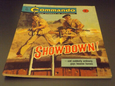 Commando War Comic Number 227 !!,1966 Issue,excellent For Age,52 Years Old,rare.