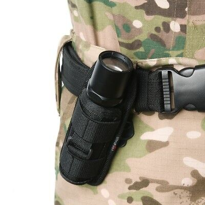 360 Degrees Rotatable Flashlight Pouch Belt Torch Cover for Surefire G2/6P/E2L