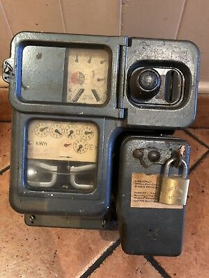 Antique Electric Coin Meters