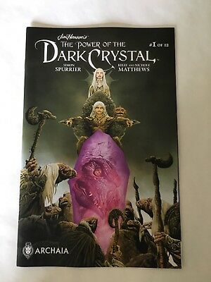 The Power of the Dark Crystal Comic Lot Complete NM 1 2 3 4 5 6 7 8 9 10 11 12