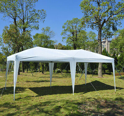 Outsunny 10 Ft. W x 20 Ft. D Steel Pop-Up Party Tent OTSU1068