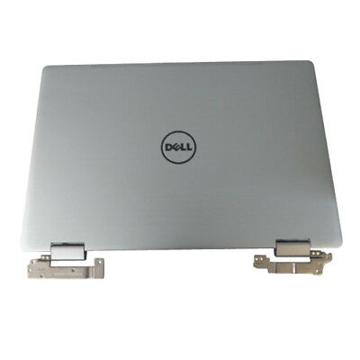 Dell Inspiron 15 (7569) Laptop Silver Lcd Back Cover w/ Hinges GCPWV