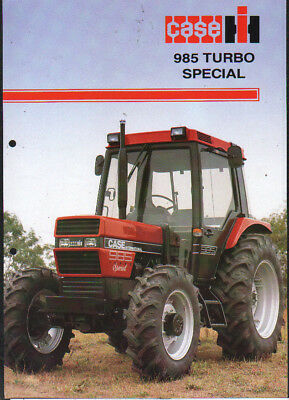 "CASE IH ""985 Turbo Special"" Tractor Brochure Leaflet"