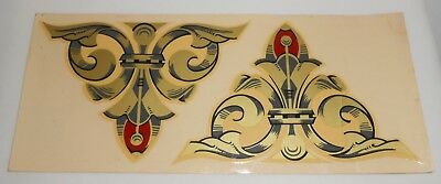 Fire Engine Decal (S) Vintage W.S. Darley & Co. Firefighting Fire Truck USA Made