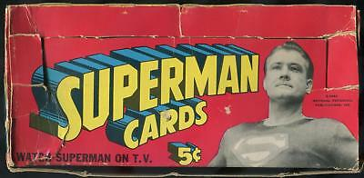 1966 Topps Superman 5-Cent Display Box