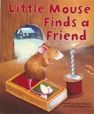 Large Childrens Bedtime Story Little Mouse Finds A Friend Picture Book Kids 2198