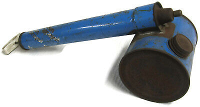 Vintage Tin Hudson Hand Pump Bug Sprayer - Blue