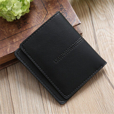 Ladies Simple Solid Short Wallet Coin Purse Card Holder Folding Wallet Purse CB