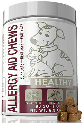 Allergy Immune Supplements for Dogs & Cats Anti-Itch Aid