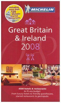 The Michelin Guide Great Britain and Ireland 2008 (Mich... by Michelin Paperback
