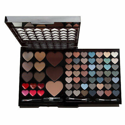 Make Up Set 64 Colours Eyeshadow Lipgloss Face Palette Kit Gift Professional Box