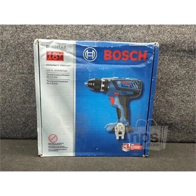 "Bosch DDS181AB 18V Compact Tough 1/2"" Drill/Driver 1900rpm, 600in-lb, NO Battery"