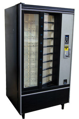 Crane National Shoppertron 431 Rotating Cold Food Vending Machine Refrigerated