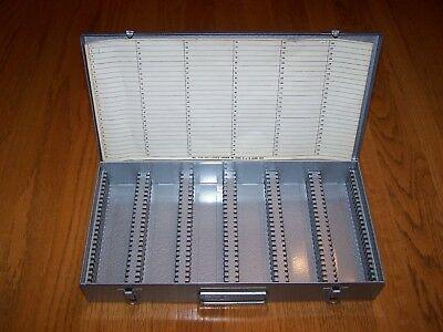 LOGAN DELUXE 2 X 2 SLIDE FILE WITH 150 SLOTS No. 110-115-1500 VERY NICE, CLEAN