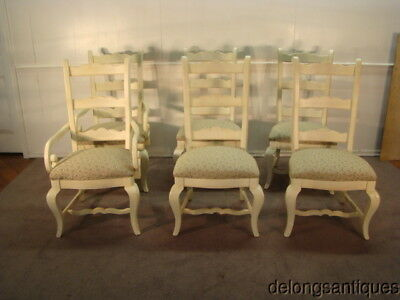 50649:Thomasville Impressions Set of 6 French Style Dining Chairs