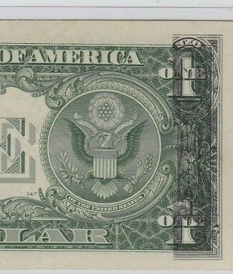 $1 Offset Printing Error Silver Certificate 1957 Tough On Silver Certificates