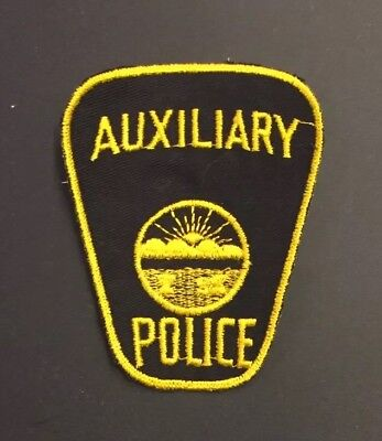Ohio Police Patch (Auxiliary)