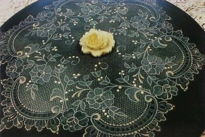 """Arlene Linton tole painting pattern """"A Delicate Lace Doily"""""""