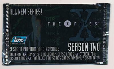 1996 Topps X Files Season 2 Trading Card Pack