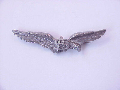 #2 VINTAGE Italian Air Force Specialist Pinback Wings: Medical Specialist