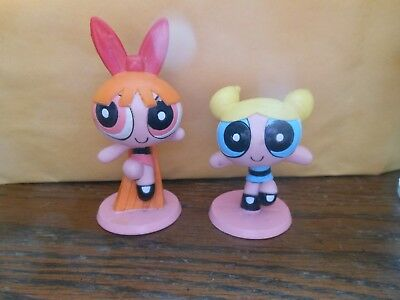 Power Puff Girls Blossom & Bubbles Cake Topper's 2000 Bakery Crafts