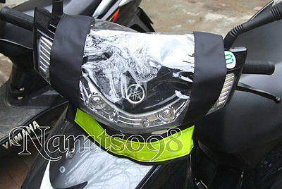 motorbike Scooter Top Control Panel Cover Rain Dust Protect/Reflective/Clear