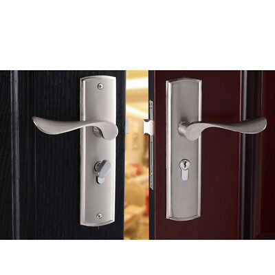 Simple Entry Door Security Entry Lever Mortise Handle Locks Set High Quality