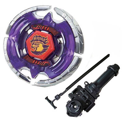 Earth Eagle Fusion Masters  Beyblade Children BB47 With Handle Launcher