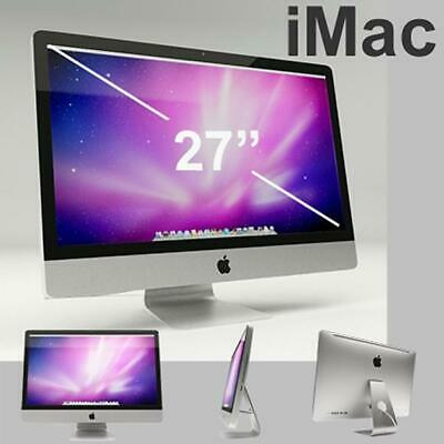 "Apple iMac 27"" Core i7-2600 Quad-Core 3.4GHz All-in-One PC 8GB 1TB HDD MD063LLA"
