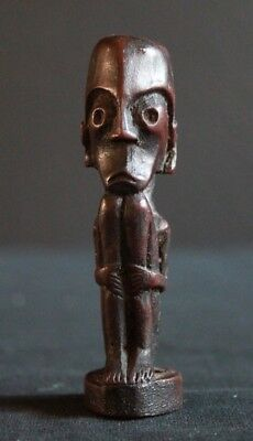Nice,old  Dayak charm figure, central Borneo, Kalimantan