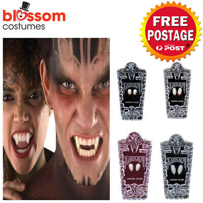 AC557 Scarecrow Vampire Fangs Deluxe Costume Vampire Teeth Halloween Dental