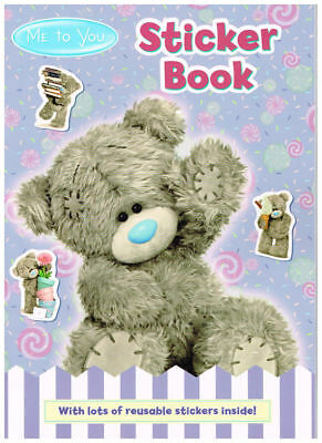 Tatty Teddy 'Me To You' Childrens Sticker Book A4 Colouring Activity Pad 2992