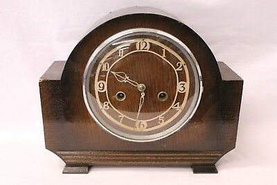 Art Deco Smiths Enfield Mantel Clock. For Spares or Repairs (910)