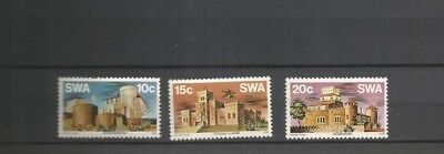 Southwest Africa Scott 388-90 Mnh