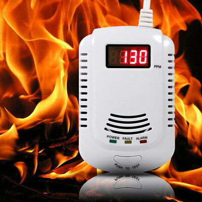 Gas Leak Detector Propane Butane Methane Natural Gas Safe  for Home Security US