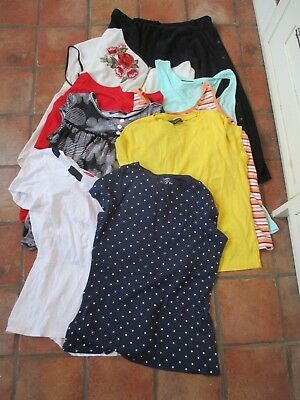 Bundle Of 9 Items Of Ladies Clothes, Size 18, Tops/skirt, Named Brands, Exc-Con