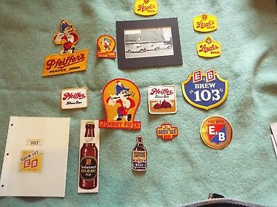 Pfeiffer, E&B and Strohs Patches