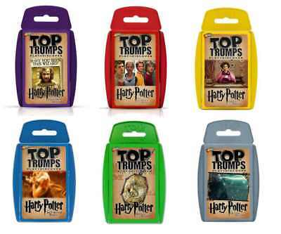 Official Harry Potter Top Trumps Playing Card Game