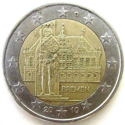 Germany Coins, 2 Euro 2010, Bremen