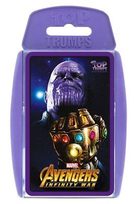 Official Marvel Avengers Infinity War Top Trumps Classic Card Game