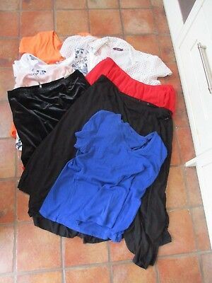Bundle Of 10 Items Of Ladies Clothes, Size 20/22, Tops/skirts, Branded, Exc-Con