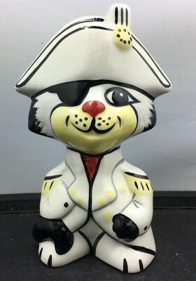 Lovely Signed Lorna Bailey Nelson Cat Figurine Made In England SU98