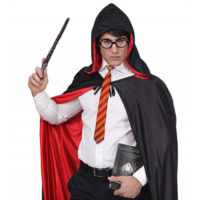 Set Mago Maga Stregone Harry Travestimento Accessori Potter Ragazzo Adulto