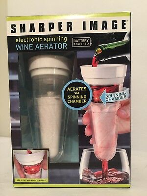Sharper Image electronic wine aerator new in unopened box