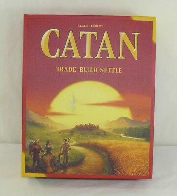 NEW Other Klaus Teuber's Settlers Of Catan Trade Build Settle Board Game 2016
