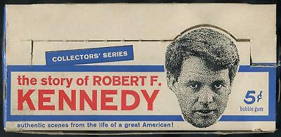 1968 Philadelphia The Story Of Robert F. Kennedy 5-Cent Display Box