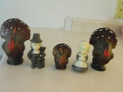 Vintage Gurley Thanksgiving Candles